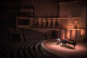 (تصاویر) یک تالار نمایش و برگزاری کنسرت های موسیقی در مسکو که خالی از جمعیت است