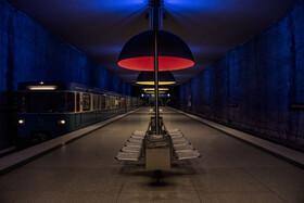 (تصاویر) متروی مونیخ از جمله مراکز پرجمعیت در این شهر آلمان