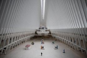 (تصاویر) نمایی از یک ترمینال مسافری در نیویورک