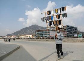 (تصاویر) فروش ماسک در کابل افغانستان