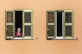 (تصاویر) قرنطینه در روم در ایتالیا