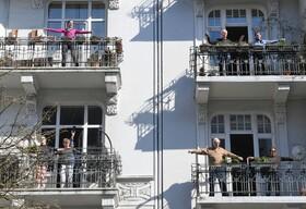 (تصاویر) قرنطینه در هامبورگ آلمان