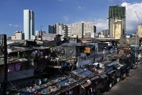 (تصاویر) محله ای فقیرنشین در مانیل در قرنطینه