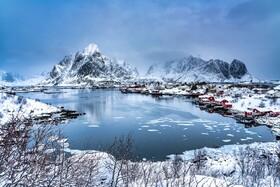 (تصاویر) تصویری از یک روستا در نروژ