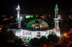 (تصاویر) جشن ماه رمضان در مسجدی در برزیل