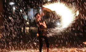 (تصاویر) جشن ماه رمضان در غزه