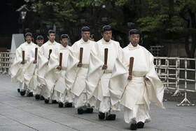 (تصاویر) مراسم مذهلی در معبدی در توکیو ژاپن