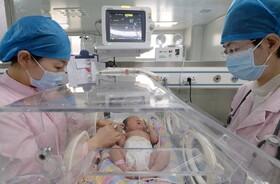 (تصاویر) بیمارستانی در هوبی چین در دوران کرونا