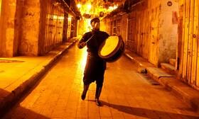 (تصاویر) بیدارباش سحرگاهی رمضان در نوارغزه در نابلس