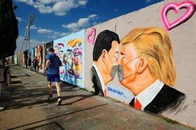 (تصاویر) خیابانی در برلن آلمان و نقاشی های دیواری