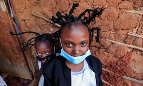 (تصاویر) مدل موی کرونا ویروس در نایروبی کنیا