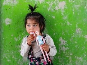 (تصاویر) بازی کودک افغان در کابل