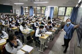 (تصاویر) بازگشایی مدرسه ها در ووهان چینی