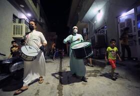 (تصاویر) بیدارباش سحر در بغداد عراق