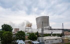 (تصاویر) تخریب نیروگاه اتمی در پلیپس بورگ در آلمان
