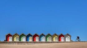 (تصاویر) ساحل تعطیل شده تحت تاثیر کرونا