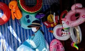 (تصاویر)دست فروشی در تایلند
