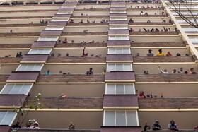 (تصاویر) قرنطینه در ژوهانسبورک در آفریقای جنوبی