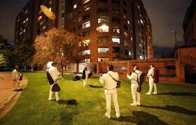 (تصاویر) گروه موسیقی موسوم به ماریاچی در بو