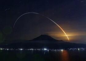 (تصاویر) موشک فضا پیمای اچ تو بی در ژاپن به فضا پرتاب شده است