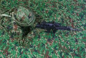(تصاویر) نمایش سلاح جدید نظامی در توکیو ژاپن