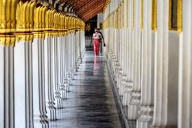(تصاویر) باز گشایی مراکز تاریخی و دیدنی در تایلند برای بازدید توریست ها