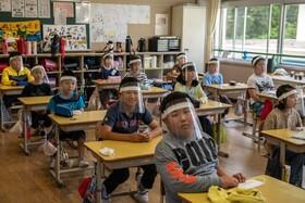 (تصاویر) بازگشایی مدارس در ژاپن