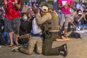 (تصاویر) تظاهرات در لس آنجلس آمریکا