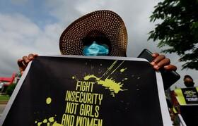 (تصاویر) تظاهرات در آبوجا در نجریه علیه ناامنی و اعتراض به خشونت علیه زنان