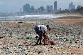 (تصاویر) جمع آوری زباله در روز جهانی محیط زیست در کلمبو سریلانکا