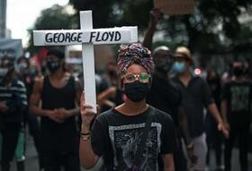 (تصاویر) تظاهرات در برزیل علیه نژاد پرستی