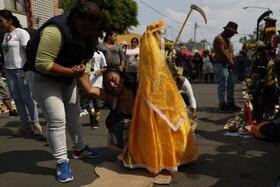(تصاویر) مراسم مذهبی در مکزیک