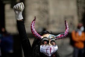 (تصاویر) تظاهرات در لاپاز بولیوی