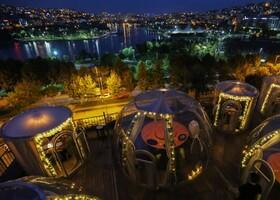 (تصاویر) بازگشایی رستوران ها در ترکیه با پوشش های محافظ برای مقابله با کرونا