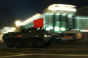 (تصاویر) رژه نظامی در مسکو روسیه