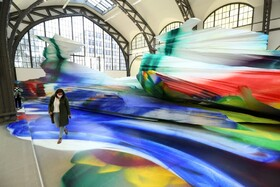 (تصاویر) نمایشگاهی هنری در یک ایستگاه  سابق قطار در برلین آلمان