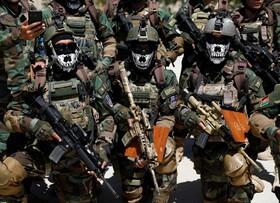 (تصاویر) مراسم پایان دوره نیروهای نظامی در کابل افغانستان