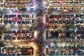 (تصاویر) نمایی از بازاری در  منطقه شنیانگ در چین