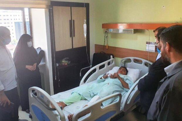 کودک مجروح