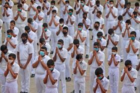 (تصاویر) بازگشایی مدارس در کلمبو سریلانکا
