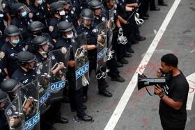 (تصاویر) تظاهرات علیه نژاد پرستی در نیویورک آمریکا