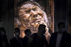(تصاویر) گشایش نمایشگاهی از نقاشی های صفت زک از نقاشان بوسنی