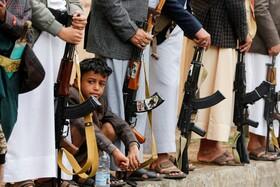 (تصاویر) مراسمی در صنعا در یمن در جمع حوثی های این کشور
