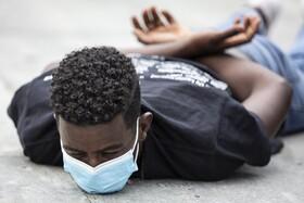 (تصاویر)تظاهرات جان سیاهان اهمیت دارد در برن سوئیس