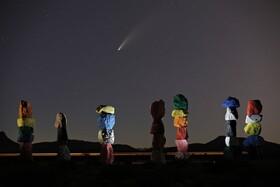 (تصاویر) اثری هنری در لاس وگاس آمریکا