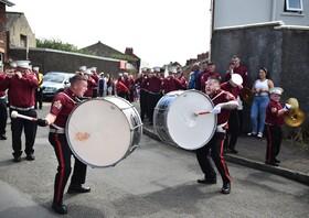 (تصاویر) جشن یادبود پیروزی پروتستان های بر کاتولیک ها ددر بلفاس ایرلند جنوبی