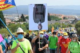 (تصاویر) تظاهرات علیه نظام پادشاهی در اسپانیا