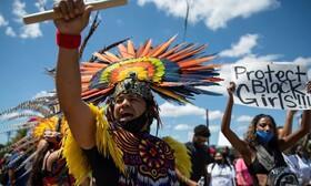 (تصاویر) تظاهرات جان سیاهپوستان اهمیت دارد در آمرکیا