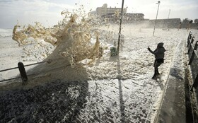 (تصاویر) سرما در آفریقای جنوبی