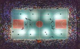 (تصاویر) مسابقه بسکتبال در یانچنگ در چین بدون رعایت فاصله اجتماعی